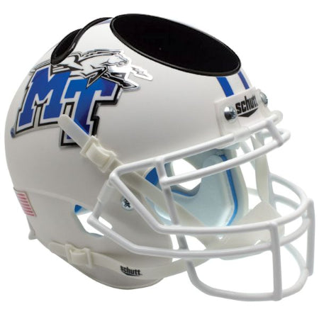 Middle Tennessee State Blue Raiders Schutt Mini Helmet Desk Caddy - Alternate 1