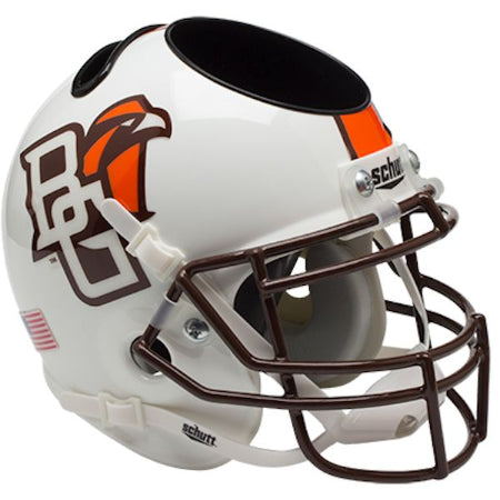 Bowling Green Falcons Schutt Mini Helmet Desk Caddy - Alternate 1