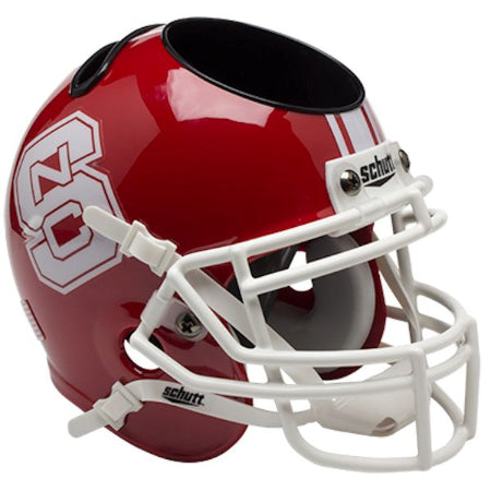 North Carolina State Wolfpack Schutt Mini Helmet Desk Caddy - Alternate 1