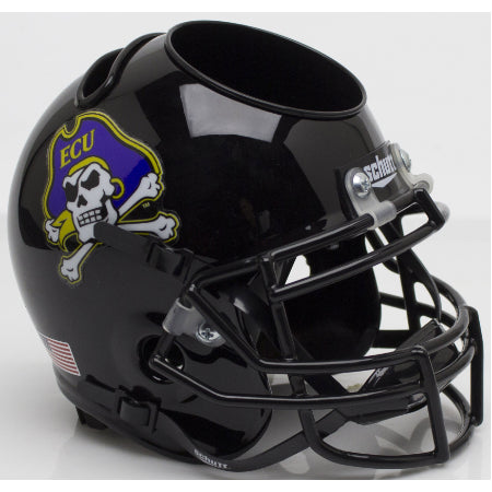 East Carolina Pirates Schutt Mini Helmet Desk Caddy - Alternate 2