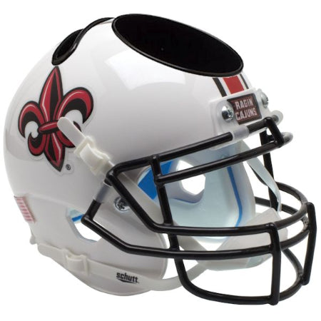 Louisiana Lafayette Ragin Cajuns Schutt Mini Helmet Desk Caddy - Alternate 2