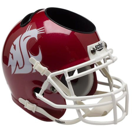 Washington State Cougars Schutt Mini Helmet Desk Caddy - Alternate 3