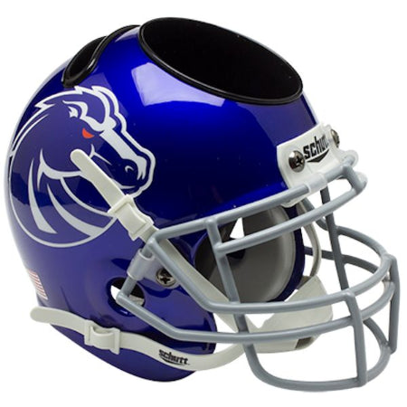 Boise State Broncos Schutt Mini Helmet Desk Caddy
