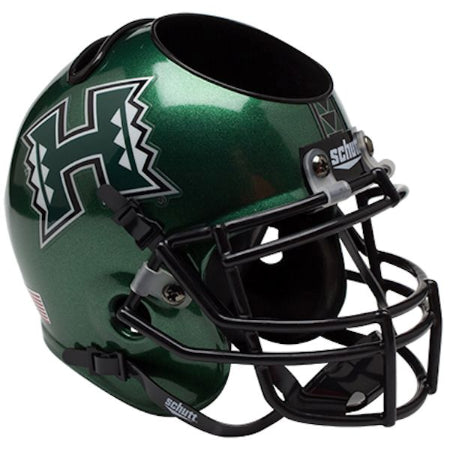 Hawaii Warriors Schutt Mini Helmet Desk Caddy