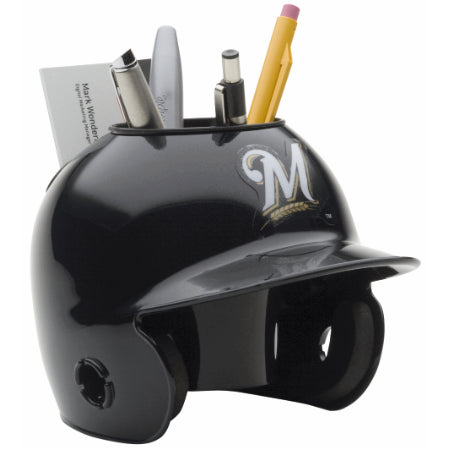 Milwaukee Brewers Schutt Mini Helmet Desk Caddy