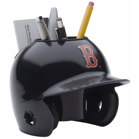 Boston Red Sox Schutt Mini Helmet Desk Caddy