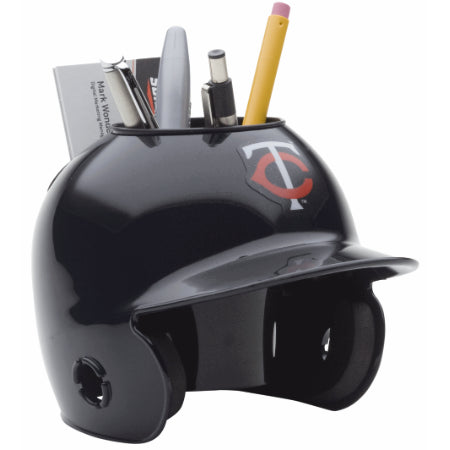 Minnesota Twins Schutt Mini Helmet Desk Caddy