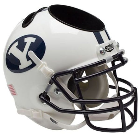 BYU Cougars Schutt Mini Helmet Desk Caddy