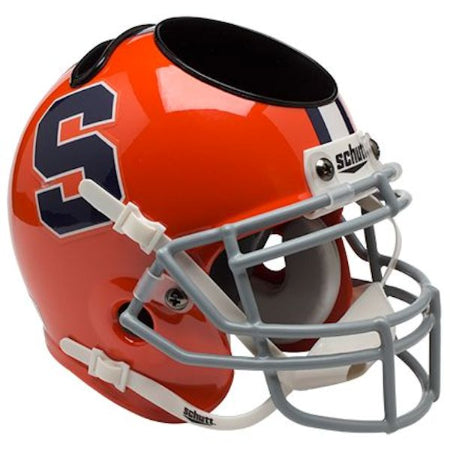 Syracuse Orange Schutt Mini Helmet Desk Caddy