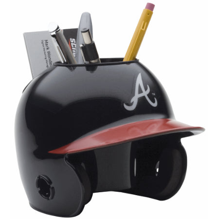 Atlanta Braves Schutt Mini Helmet Desk Caddy