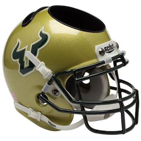 South Florida Bulls Schutt Mini Helmet Desk Caddy