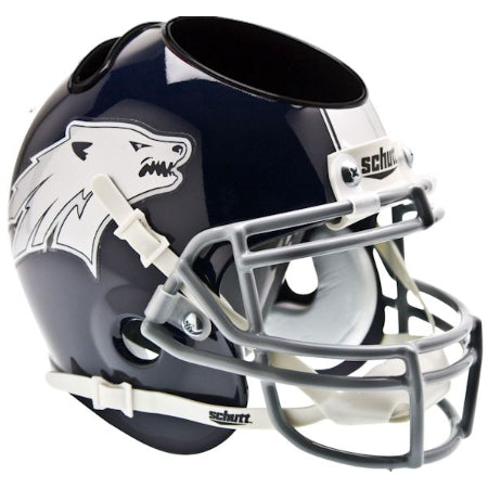 Nevada Wolfpack Schutt Mini Helmet Desk Caddy