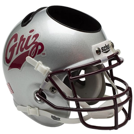 Montana Grizzlies Schutt Mini Helmet Desk Caddy