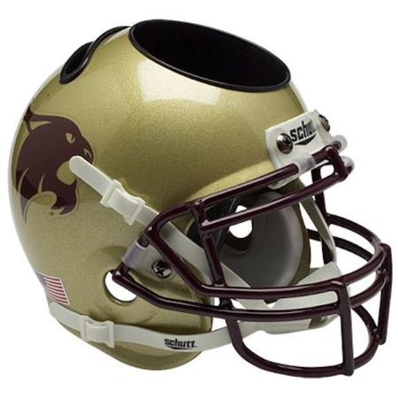 Texas State Bobcats Schutt Mini Helmet Desk Caddy