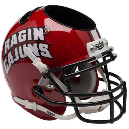 Louisiana Lafayette Ragin Cajuns Schutt Mini Helmet Desk Caddy