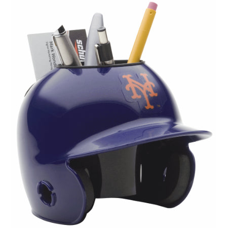 New York Mets Schutt Mini Helmet Desk Caddy