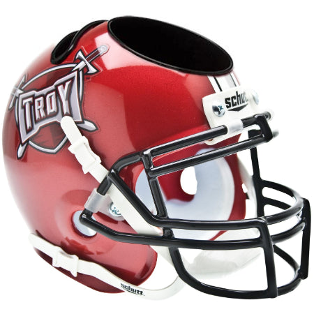 Troy Trojans Schutt Mini Helmet Desk Caddy