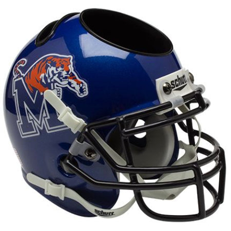 Memphis Tigers Schutt Mini Helmet Desk Caddy