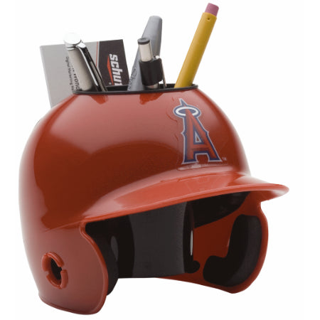 Los Angeles Angels Schutt Mini Helmet Desk Caddy