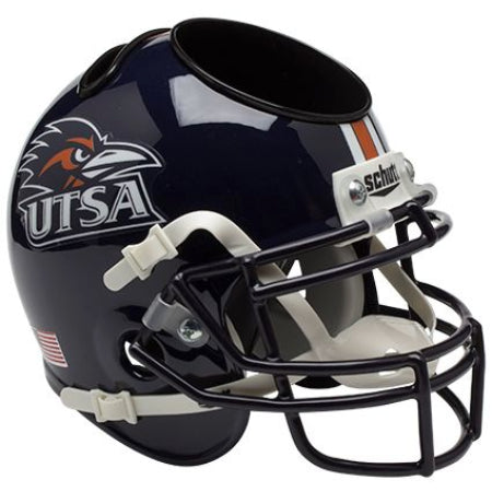 Texas San Antonio Roadrunners Schutt Mini Helmet Desk Caddy
