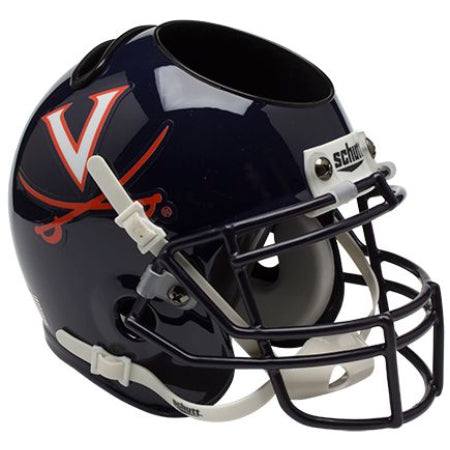 Virginia Cavaliers Schutt Mini Helmet Desk Caddy
