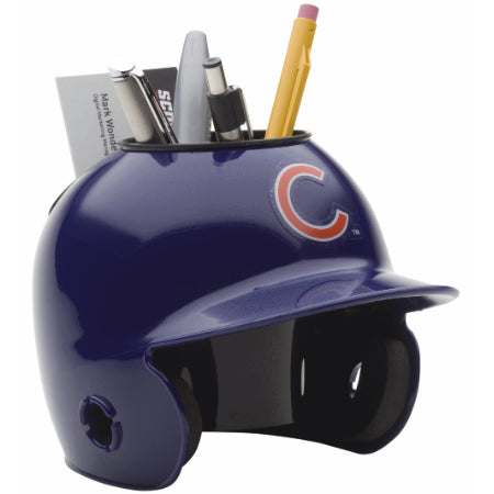 Chicago Cubs Schutt Mini Helmet Desk Caddy
