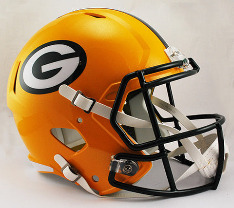 Green Bay Packers Riddell Deluxe Replica Speed Helmet