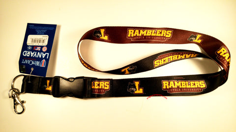 "Loyola Ramblers 22"" Lanyard with Detachable Buckle"
