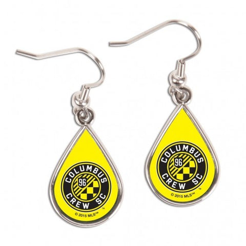 Columbus Crew SC Tear Drop Earrings