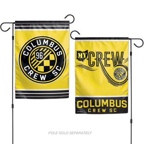Columbus Crew SC 2 Sided Garden Flag