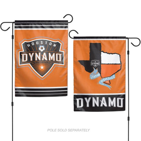 Houston Dynamo 2 Sided Garden Flag