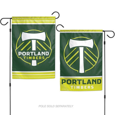 Portland Timbers 2 Sided Garden Flag