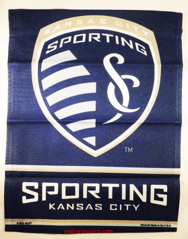 "Sporting Kansas City 11""x15"" Garden Flag"