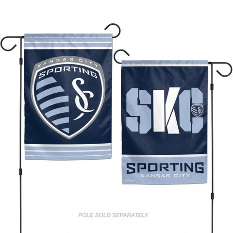 Sporting Kansas City 2 Sided Garden Flag