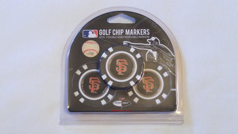 San Francisco Giants Golf Chip with Marker - 3 Pack