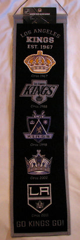 "Los Angeles Kings 8""x32"" Wool Heritage Banner"