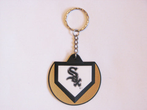 Chicago White Sox Home Plate Style Keychain