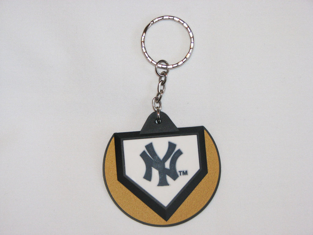 New York Yankees Home Plate Style Keychain