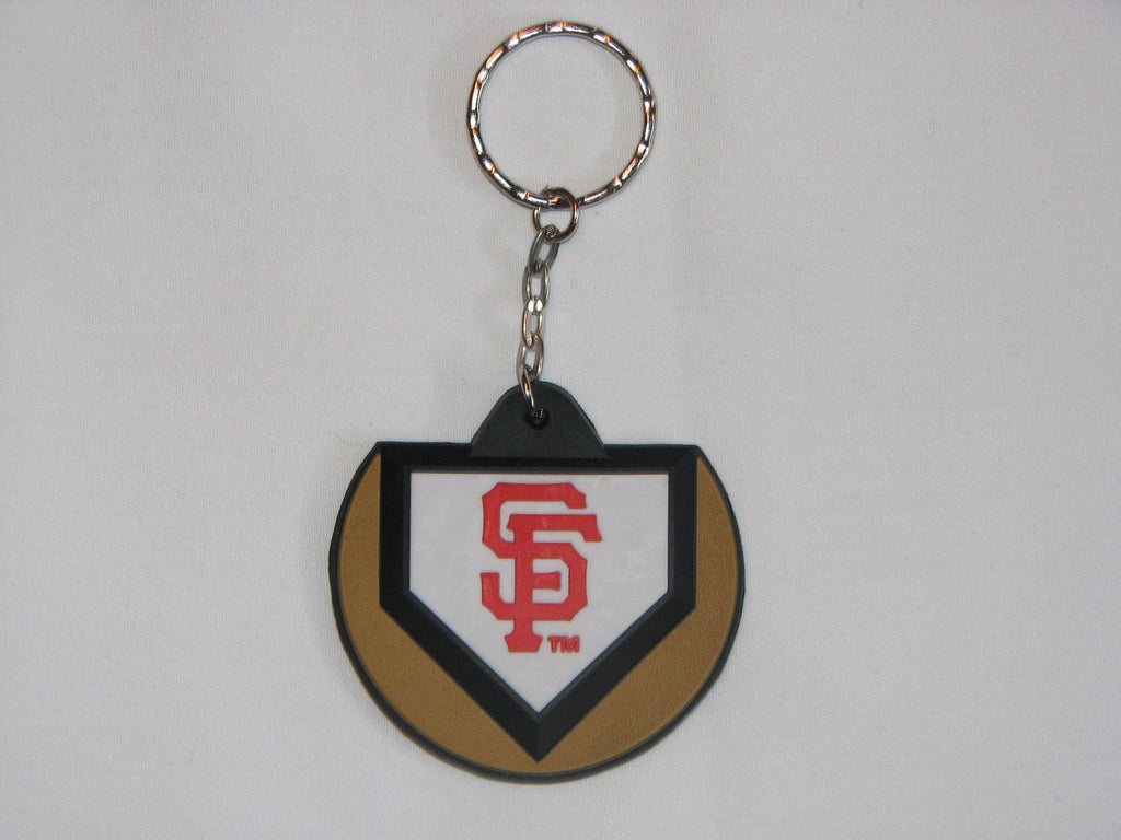 San Francisco Giants Home Plate Style Keychain