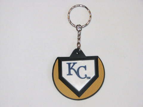 Kansas City Royals Home Plate Style Keychain