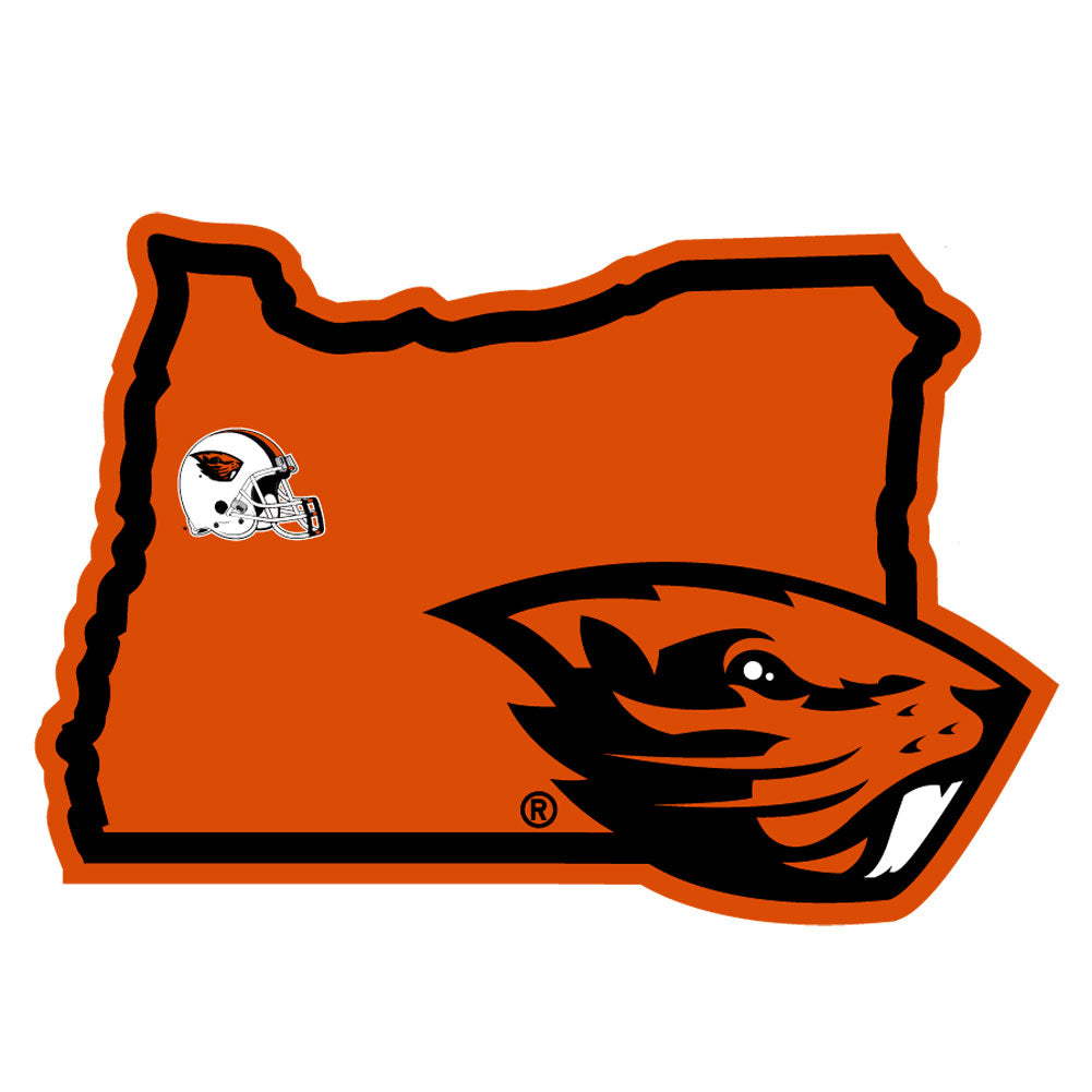 Oregon State Beavers Home State Pride Decal