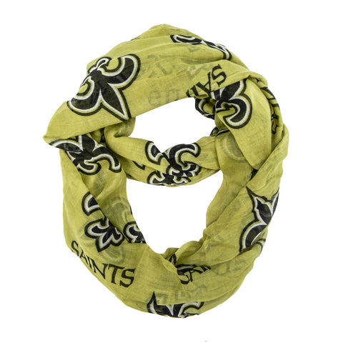 New Orleans Saints Infinity Scarf - Alternate