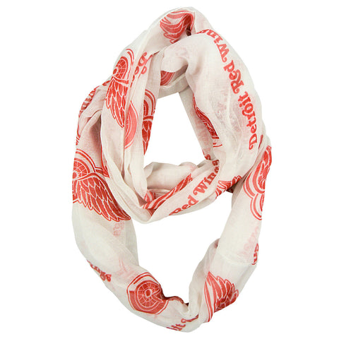 Detroit Red Wings Infinity Scarf - Alternate