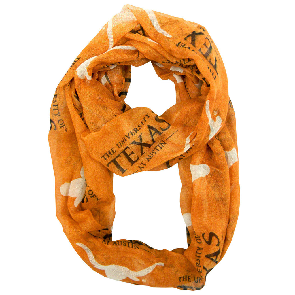 Texas Longhorns Infinity Scarf - Alternate