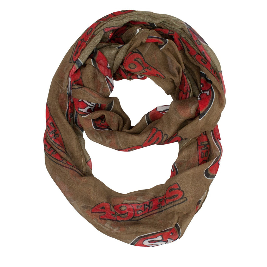 San Francisco 49ers Infinity Scarf - Alternate
