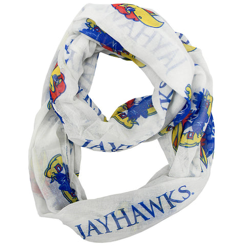 Kansas Jayhawks Infinity Scarf - Alternate