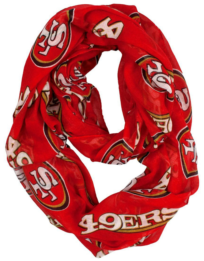 San Francisco 49ers Infinity Scarf