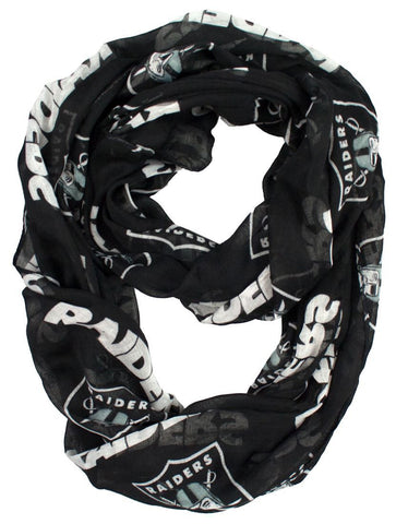 Oakland Raiders Infinity Scarf
