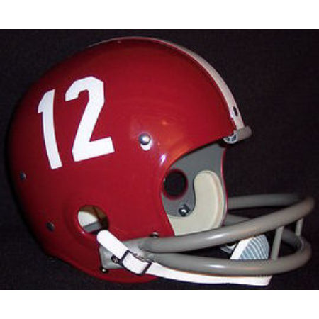Alabama Crimson Tide Ken Stabler Reproduction Vintage Full Size Helmet
