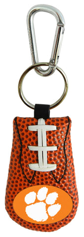 Clemson Tigers Classic Football Keychain